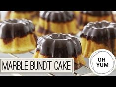 Bake With Anna Olson TV Show recipes on Food Network Canada; your exclusive source for the latest Bake With Anna Olson recipes and cooking guides. Chocolate Ganache Glaze, Decadent Chocolate, Mini Cakes, Cupcake Cakes, Bundt Cakes, Cake Fondant, Asian Food Channel, Cake Recipes, Dessert Recipes
