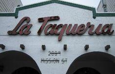 La Taqueria in the Mission