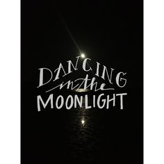 "Maybe it's because I watched A Walk to Remember and listened to the soundtrack that has ""dancing in the moonlight"" on it so many times but to me, this is so romantic. Day 31: dancing in the moonlight  Photo by @ceejcurran"