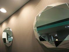 Espelho para casa de banho DIAMANTE by Regia design Gabriele Allegro