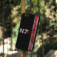 Mass Effect N7 iPhone case.