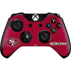 NFL San Francisco 49ers Xbox One Controller Skin  San Francisco 49ers Distressed Vinyl Decal Skin For Your Xbox One Controller *** Click on the image for additional details.Note:It is affiliate link to Amazon.