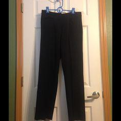 Lizclaiborne trousers!! Nice black Lizclaiborne dress pants!! Liz Claiborne Pants Trousers