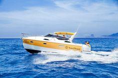'Telechampagne' en alta mar. Un servicio para Ibiza y Formentera.