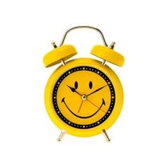 Smiley Face Alarm Clock - I could do with this to put me in a happy frame of mind when I get up in the morning!