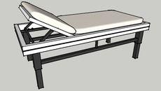 3D Model of bed