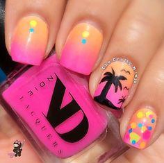 Hawaiin nails