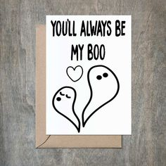 You're My Boo. Funny Valentine's Day Card. Sexy Valentine's Day Card. Naughty Valentine's Day Card. Funny Husband Card. Funny Boyfriend Card. Funny Girlfriend Card. Funny Wife Card. Funny Love Card. Funny Anniversary Card. Funny Husband Birthday.