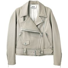 Acne Studios merci leather jacket JACMEPSS13 ($750) ❤ liked on Polyvore featuring outerwear, jackets, coats, tops, real leather jacket, leather jacket, acne studios, 100 leather jacket and genuine leather jacket