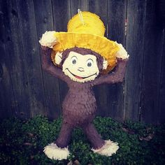 Curious George pinata!