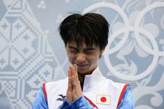 Japan's Yuzuru Hanyu at the kiss and cry zone during the Men's Figure Skating Short Program during the Sochi Winter Olympics on February Team Events, Hanyu Yuzuru, Male Figure, Winter Olympics, Figure Skating, The Man, Japan, February 13