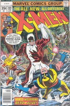 Uncanny X-Men #109.