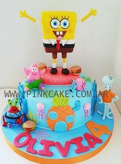 Torta Bob Esponja