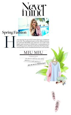 """""""Wake me up [ How to mix and match pastel colours]"""" by loreley-lorey ❤ liked on Polyvore featuring SHOUROUK, Alexander Wang, Miu Miu, women's clothing, women's fashion, women, female, woman, misses and juniors"""
