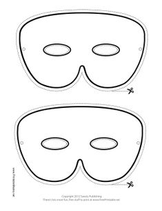 Masquerade mask pattern use the printable outline for crafts printable simple mardi gras mask to color mask pronofoot35fo Gallery