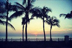 Sunrise in Key Biscayne, FL