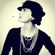 Fashion Icon - Coco Chanel. A true pioneer - Fashion was never the same again!