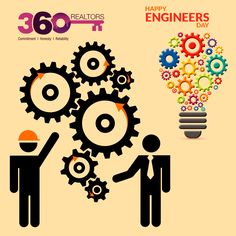 Happy #EngineersDay !! Engineers Day, Real Estate Services, Playing Cards, Happy, Creativity, Playing Card Games, Ser Feliz, Game Cards, Playing Card