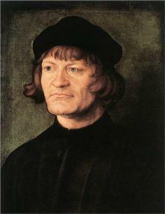 Portrait of a Cleric - Albrecht Durer