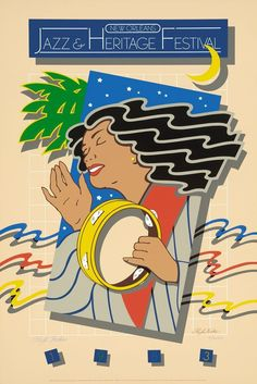 Jazz Fest Poster 1983