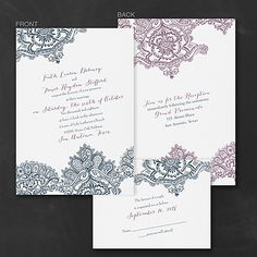 Lacy Look Wedding Invitation  |  40% OFF  |  http://mediaplus.carlsoncraft.com/Wedding/Wedding-Invitations/3254-TWS36276-Lacy-Look--Invitation.pro
