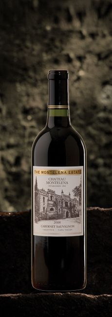 2008 Chateau Montelena Estate Cabernet Sauvignon - this one is an investment, but it is GOOD!