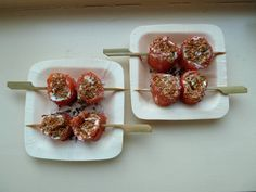 Amuse-Zalm Sushi Met Bosui recept | Smulweb.nl