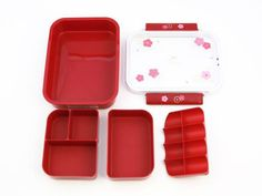 USAGI SHIKIRI BENTO RED. Why buy the expensive PlanetBox (because it's beautiful and I want it) when you can get basically the same thing in a bento box! This one here is $16 compared to the PlanetBox that's $89.