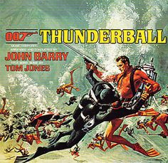 Thunderball is the soundtrack album for the fourth James Bond film & was first released by United Artists Records in 1965, with a CD release in 1988. The music was composed and conducted by John Barry, and performed by the John Barry Orchestra.