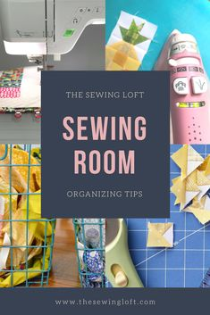 Easy tips to keep your sewing space organized.