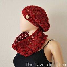 Climbing Shells Slouchy Beanie Crochet Pattern - The Lavender Chair
