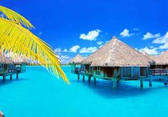 I also want to stay in one of these houses in Bora Bora