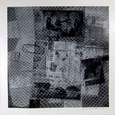 Robert Rauschenberg, Two Works: Surface Series from Currents, #37 and #50, 1970…