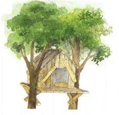 Hier lest Ihr, wie man ein Baumhaus bauet. Euer Nachwuchs wird begeistert sein: Von einem gemütlichen Nest ganz oben im Baum, inmitten raschelnden Blattwerks, davon träumen doch alle Kinder. Von hier oben aus kann man die Welt in Ruhe betrachten, ohne selbst entdeckt zu werden.