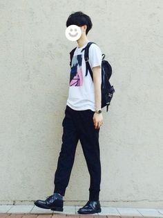 kitsune│Paul Smith T Shirts Looks - WEAR