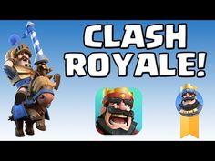 CLASH ROYALE || GAMEPLAY || das neue Spiel von Super Cell! [Deutsch/German HD+] - YouTube