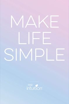 of Canadian moms agree that simplifying aspects of their life would make them happier. Intuition, Sayings, Happy, How To Make, Life, Chic, Lyrics, Ser Feliz, Word Of Wisdom