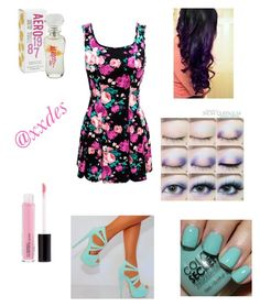 """""""Flowers"""" by xxdes ❤ liked on Polyvore"""
