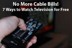 7 Ways to Watch TV Without Cable~