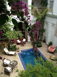 One of the best loved and most established boutique riad hotels. Marrakesh (Morocco, Marruecos, Maroc)