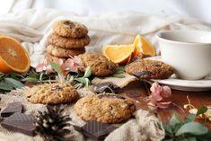 almond orange chocolate chip cookies (vegan)