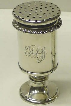 Love this thought of my sister in law when I saw this . Antique Silver ~ Lovely Shape ~