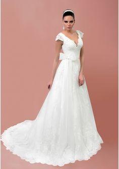 Elegant Cap Sleeve Wedding Dress with Bow Applique Vestidos De Noiva V Neck A Line Bridal Gown Plus Size Good Sale   http://chateaulumiere.com/products/elegant-cap-sleeve-wedding-dress-with-bow-applique-vestidos-de-noiva-v-neck-a-line-bridal-gown-plus-size-good-sale/   US $211.00 - Free Shipping   Chateau Lumiere #wedding #weddinginspiration #weddinggown #weddingideas #bridal #bride #bridalfashion #weddingfashion #love #fashion #weddingstyle #weddinginspo #weddingvibes #weddingdress…