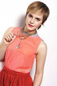 Emma Watson Pics, Emma Watson Hair, Emma Watson Sexiest, Emma Watson Beautiful, Hermione Granger, Harry Potter, Pixie Cut, Her Hair, Beautiful People