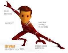 Free Animation Rig in Maya: Stewart by Animation Mentor Animation Mentor, Animation Schools, Computer Animation, Animation Reference, 3d Animation, Animation Character, Multimedia, Character Rigging, Animation Tutorial