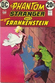 Phantom Stranger #26. Frankenstein. Cover by Mike Kaluta.