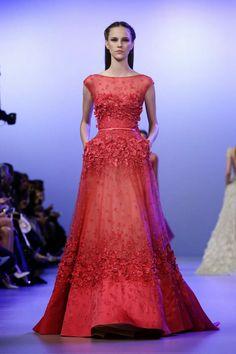 Mis Queridas Fashionistas: Elie Saab Haute Couture Spring Summer 2014 -Paris Haute Couture Fashion Week