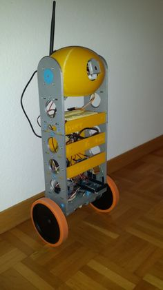 Awesome self-balancing 3D printed Raspberry Pi robot