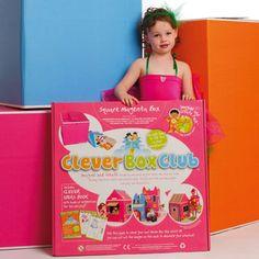Clever Box Craft Set - Magenta