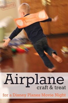 Toddler Approved!: Airplane Craft & Treat for a Disney Planes Movie Night #shop #cbias #OwnDisneyPlanes
